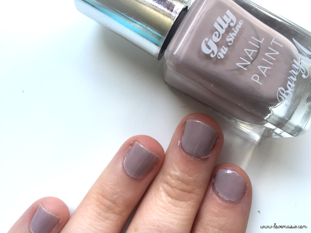 Barry M nail polish review | Love, Maisie | Almond