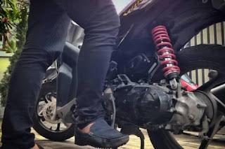 Cara stater motor yang baik dan benar