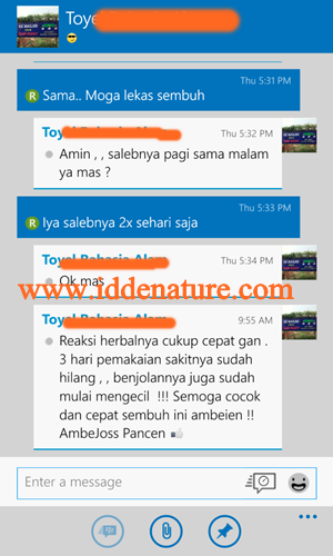 testimoni Ambejoss dan Ambeclear Herbal de Nature