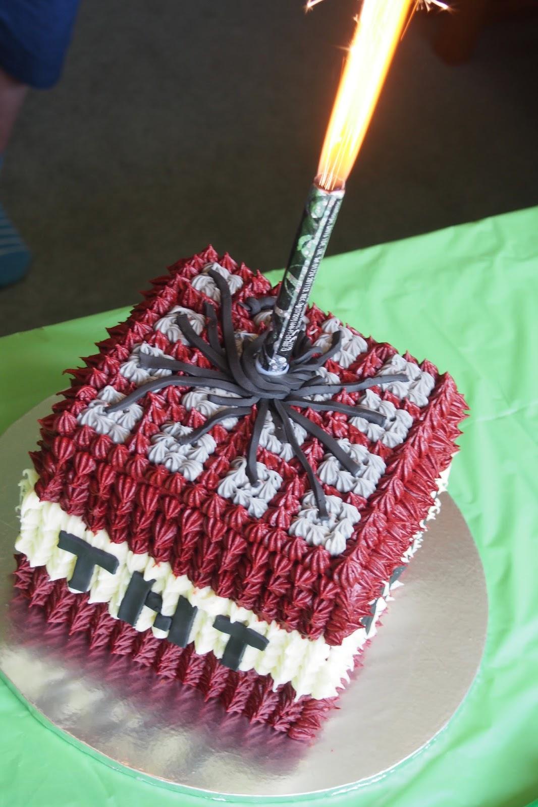 Minecraft Cake Ideas Simple