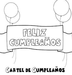 Dibujos de Feliz Cumpleaños frases