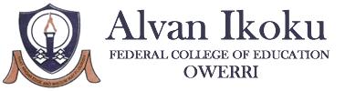 Alvan Ikoku NCE Admission List