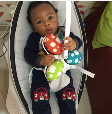 Daddy Is Trying Hard To Get Access To You – Tonto Dikeh's Husband Writes Son