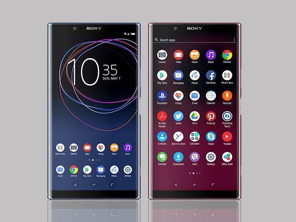 sony xperia xz1 display