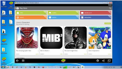 Use proxy with Bluestacks