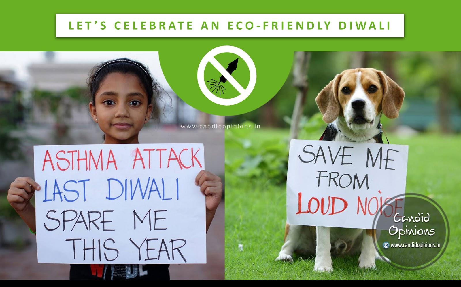 Eco-friendly Diwali, Firecracker-free Diwali