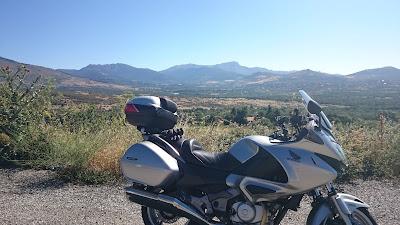RUTA EN MOTO 275 Km CASTILLO DE COCA