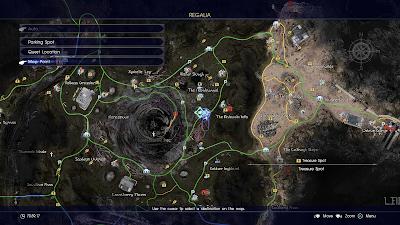 Mapa Final Fantasy XV