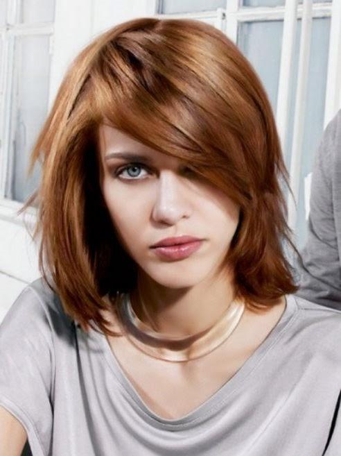 Moderne Frisuren 2014 Damen Mittellang – Trendige Frisuren 2017