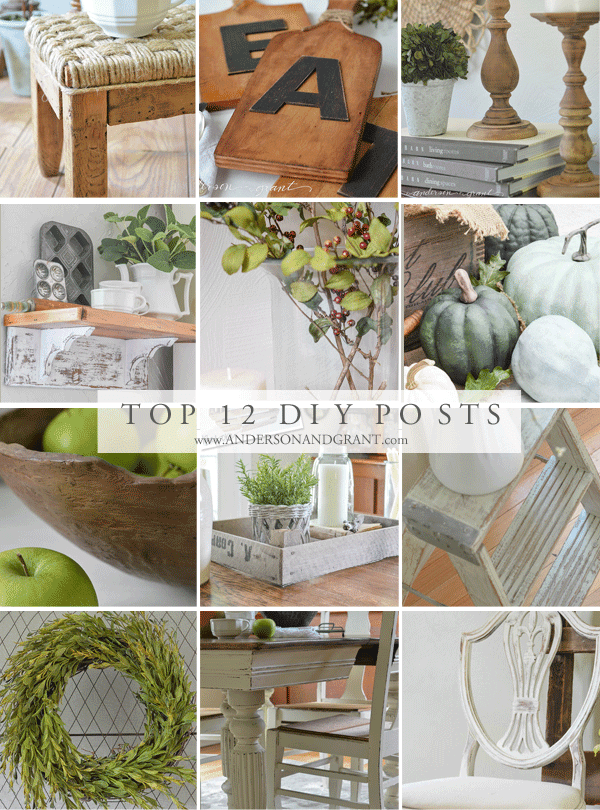 Top 12 DIY Posts of 2015 from www.andersonandgrant.com
