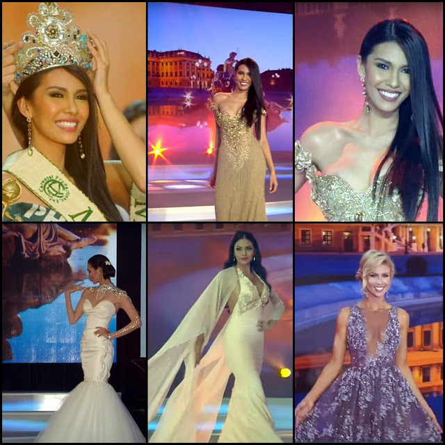"SASHES AND TIARAS.....Miss Earth 2015 Finals: Winner ""Miss Philippines Earth"" Angelia Ong + EVENING GOWN Recap: The Good and Oh Dear!"
