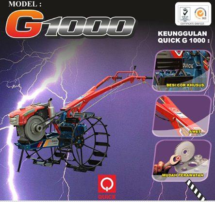 Traktor Tangan Quick G 1000