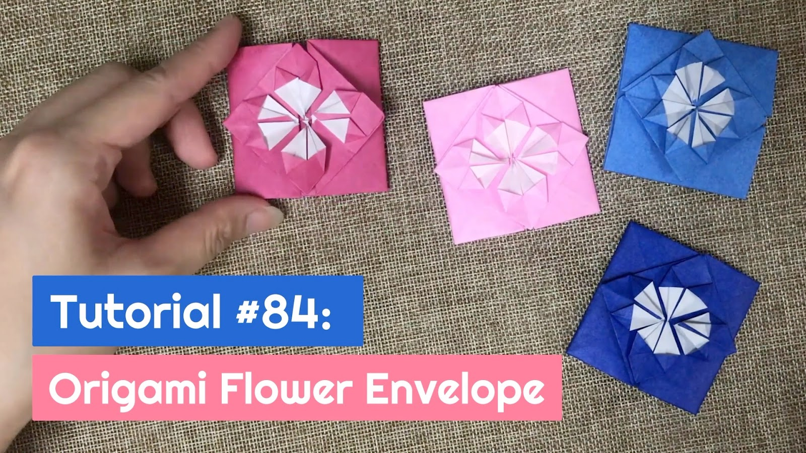 Tutorial 84 origami flower envelope the idea king tutorial 84 origami flower envelope mightylinksfo