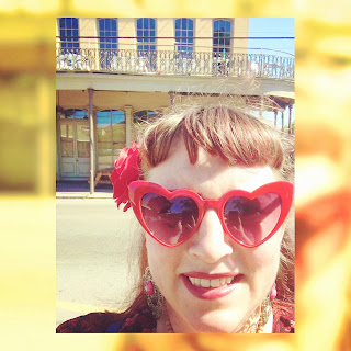 Heart Shaped Sunglasses from Funky Moneky on Magazine Street in New Orleans