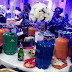 Photos: Nigerian couple gives out camp gas, suitcases as souvenirs at their wedding
