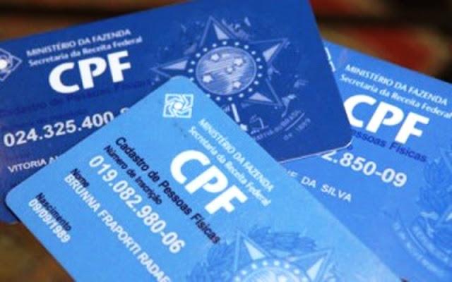 Governo edita decreto que cria possibilidades para cidadão usar CPF no lugar de outros documentos