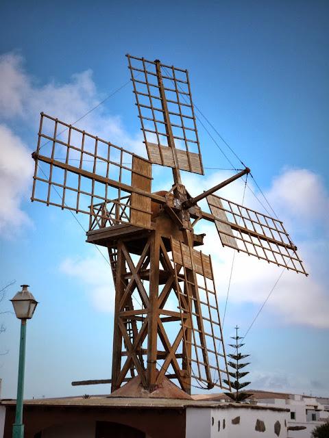Windmühle auf Lanzarote