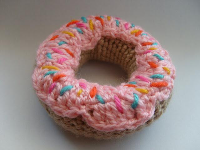 Amigurumi Donut Yapımı – Amigurumi Donut Free Patterns | Donut ... | 480x640