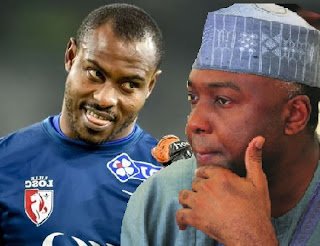 Enyeama  and Saraki