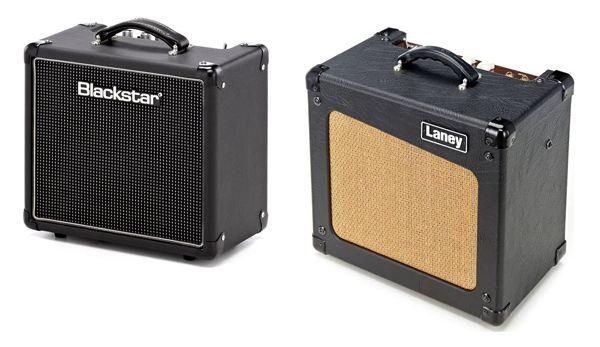 Amplificadores de Guitarra Eléctrica para Tocar en Casa Blackstar HT 1R Vs Laney Cub10