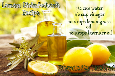 Cleaning Recipe: Lemon Disinfectant
