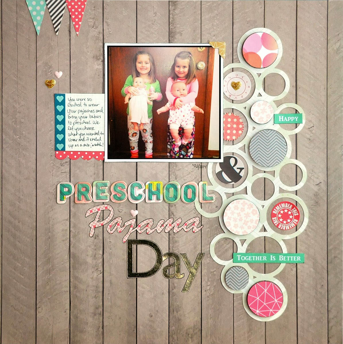 Blessed Scrapper Gossamer Blue Preschool Pajama Day