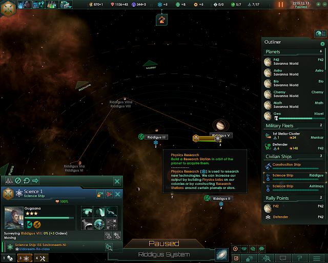 The Science Ship   Stellaris Screenshot