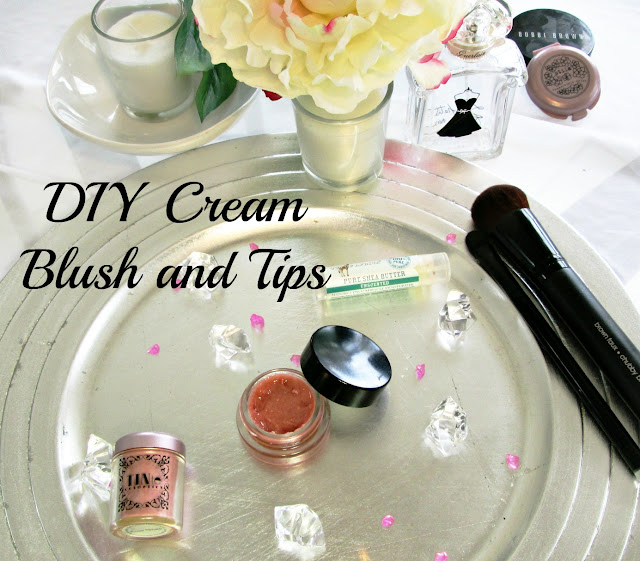 DIY cream blush, how to make your own cream blush.