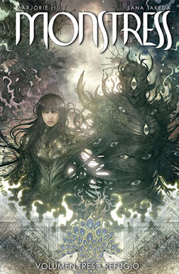 "Comic: Reseña de ""Monstress"" Vol. 3 de Marjorie Liu y Sana Takeda - Norma Editorial"