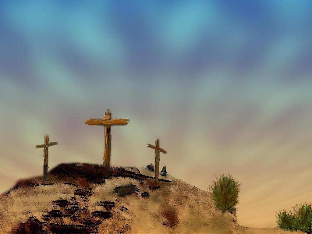 Easter CrossEaster Cross Background