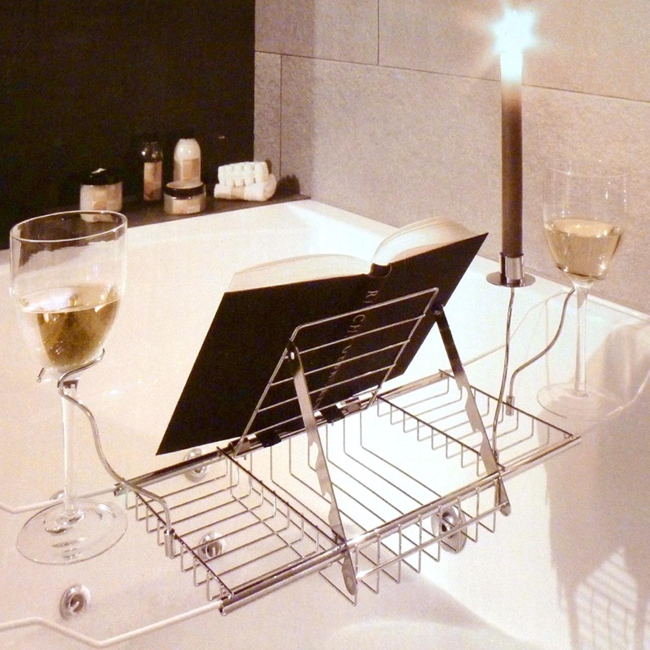 Contemporary Book Holder For Bath Ideas - Bathroom and Shower Ideas ...