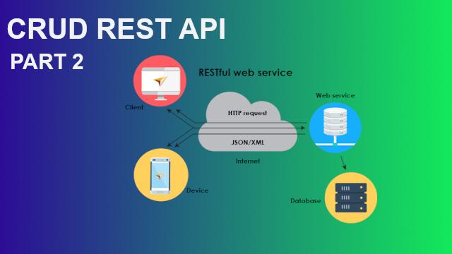 CRUD Rest API Webservice Menggunakan PHP dan MySQL - Part 2