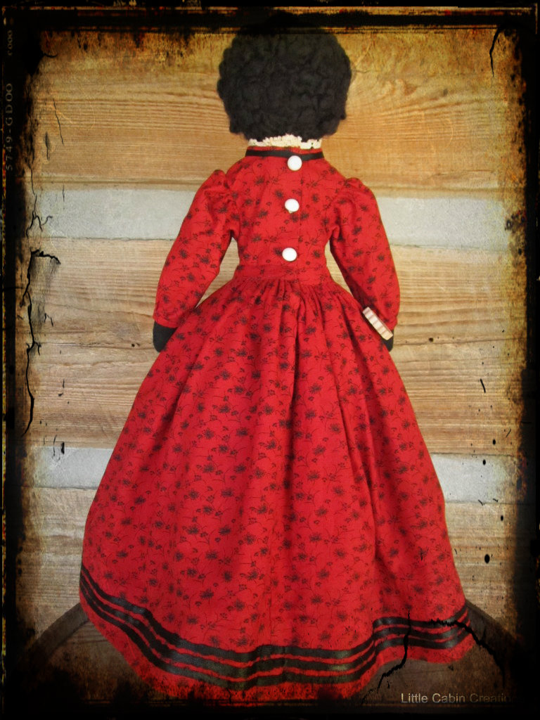 """""""MAKE DO DOLLS"""": Sawdust Double Ended Or Topsy Turvy Doll"""