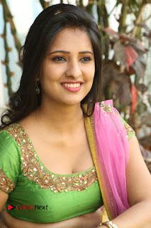 Actress Nikitha Bisht Stills in Lehenga Choli at Pochampally Ikat Art Mela Launch  0305.JPG