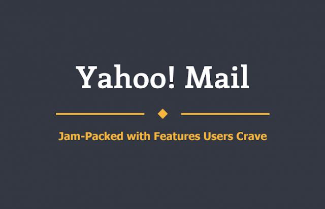 Yahoo mail Infogrphics