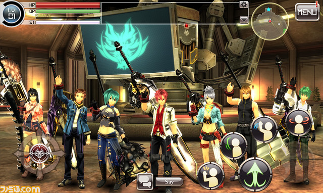 God Eater Online - Mobile Version
