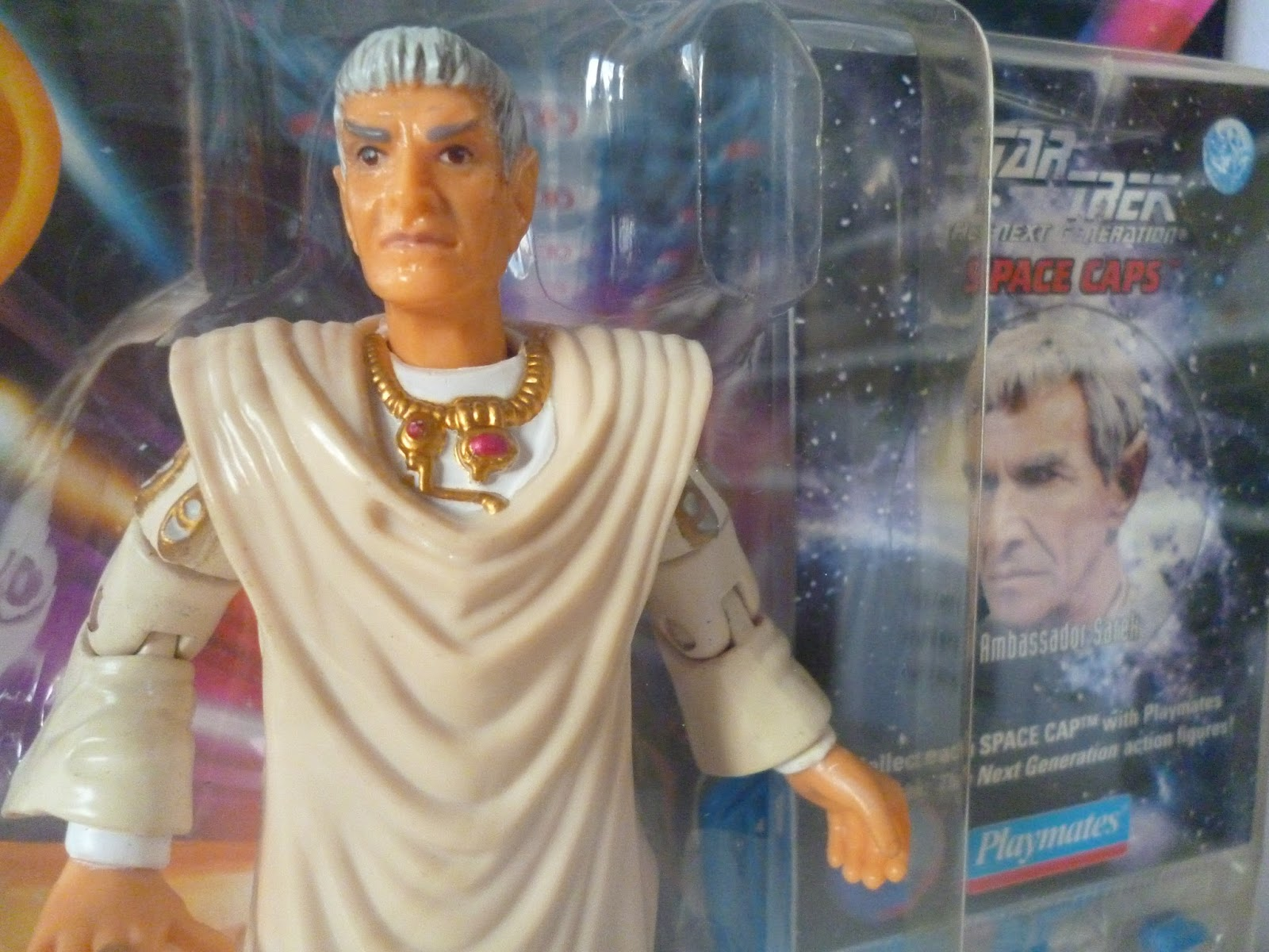 Star Trek Ambassador Sarek with Space Cap Canada
