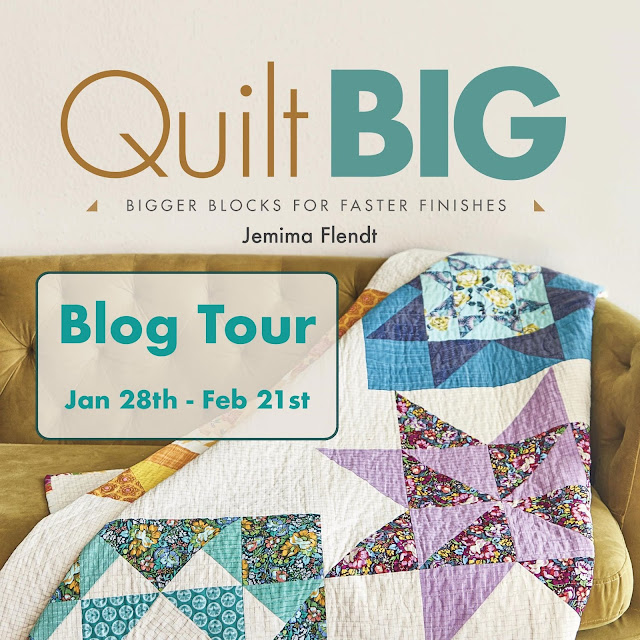 Quilt Big Book by Jemima Flendt | Quilt Big Blog Hop | Shannon Fraser Designs
