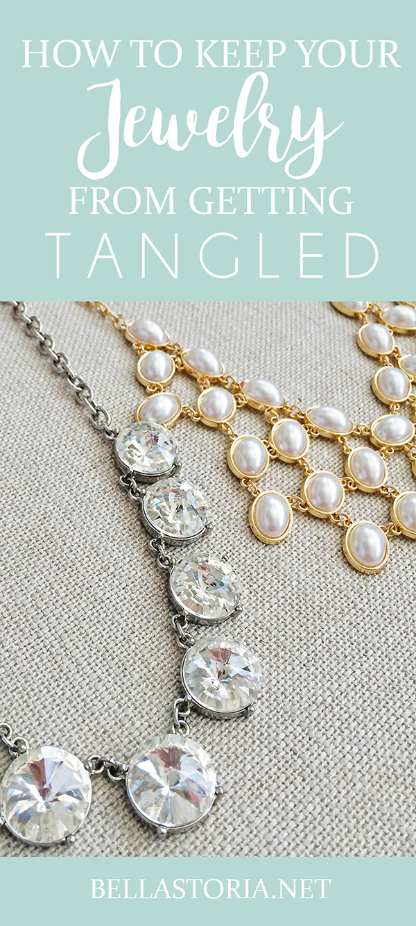 Bella Storia: Quick Tip Tuesday: Keep Jewelry from Tangling