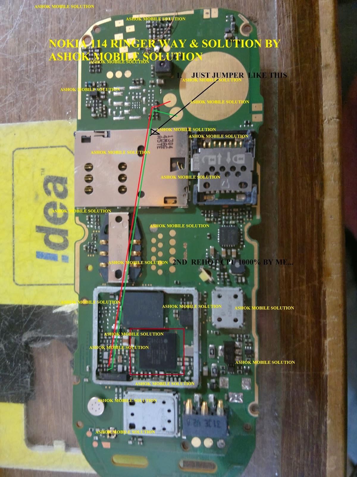 Ashok Mobile Solution: nokia114 ringer solution