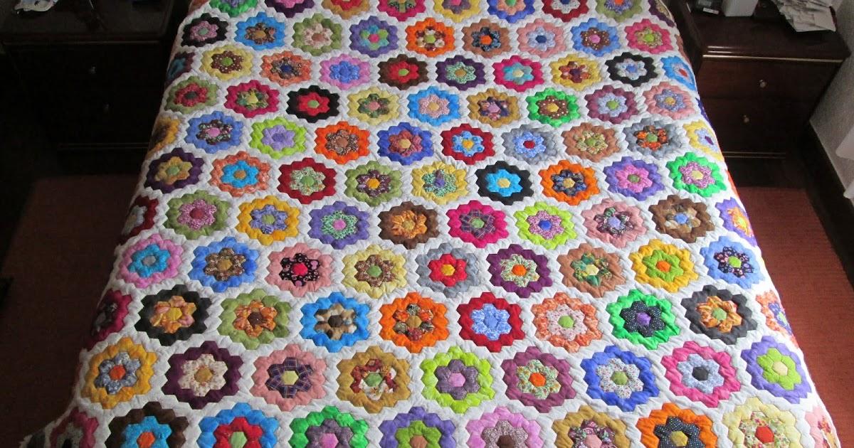 Creaciones artisticas nessy quilt el jardin de la abuela for El jardin portugalete