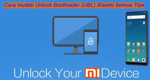 Tutorial Cara Mudah Dan Lengkap Unlock Bootloader Smartphone Xiaomi