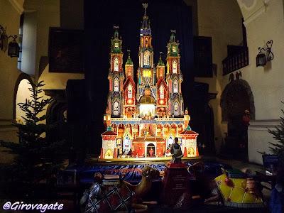 presepe Cracovia chiesa San Francesco