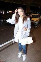 Neha Dhupia in Shirt Denim Spotted at Airport IMG 3524.JPG