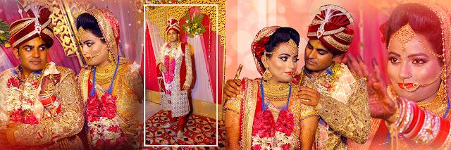 Indian Wedding Album Design and Collage