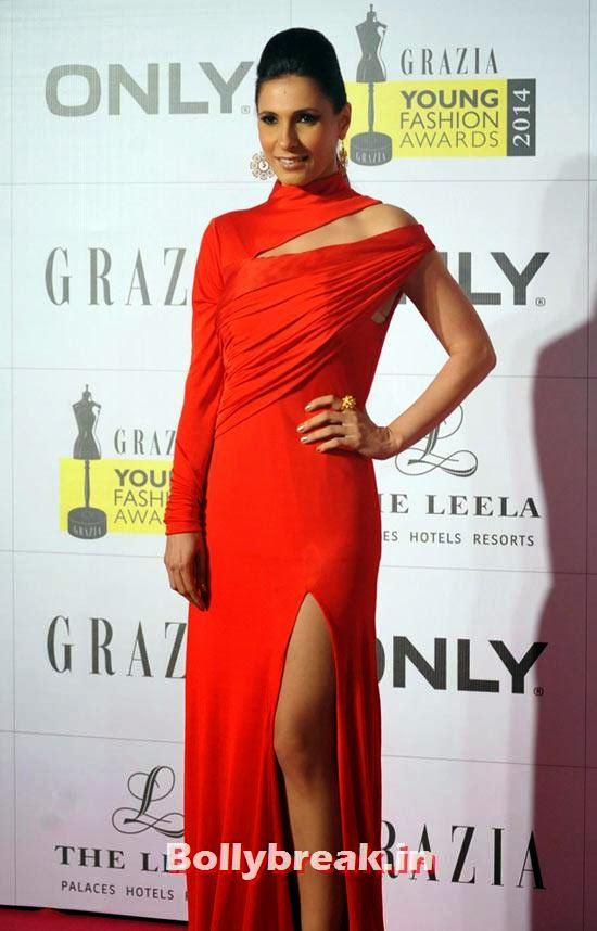 Ramona, Grazia Young fashion Awards Pics