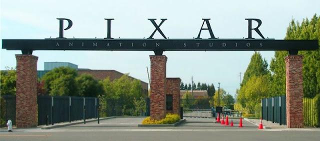 Entrada a las instalaciones de Pixar Animation Studios en Emeryville, California.
