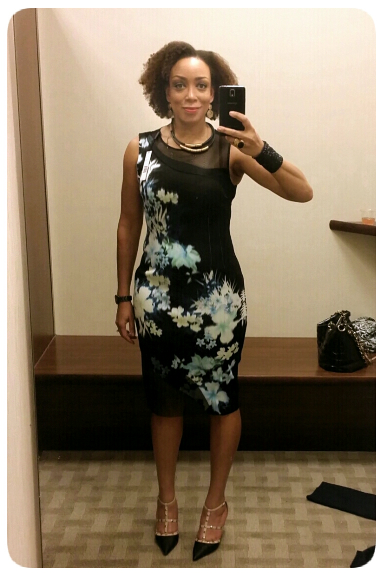 Elie Tahari Emory Floral Print Sheath Dress - Erica B's DIY Style!