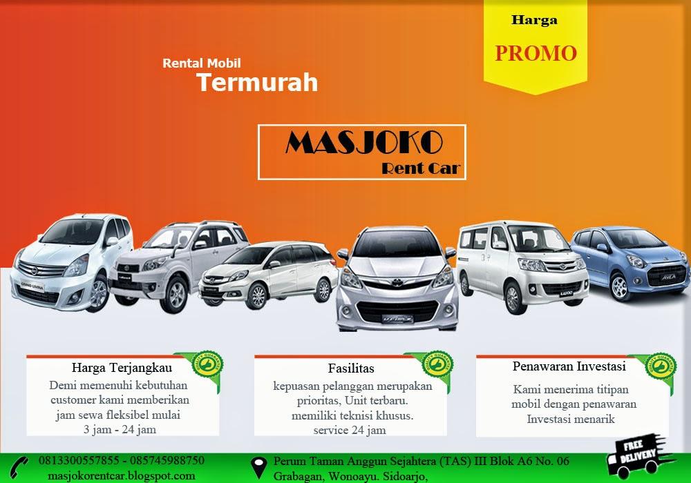 Masjoko Rent Car Rental Mobil Sidoarjo