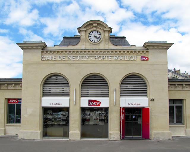 Gare de Neuilly - Porte Maillot, Boulevard Pereire, Quartier des Ternes, Paris